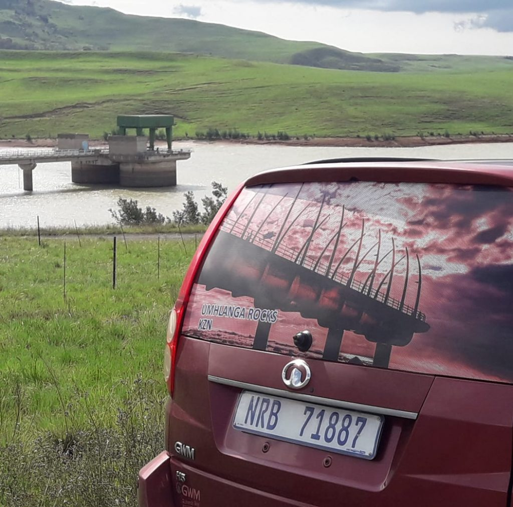 ONWARD AND UPWARD: The Sterkfontein Dam, near Harrismith. Prayer has helped lift its level, says Jonathan Syster.